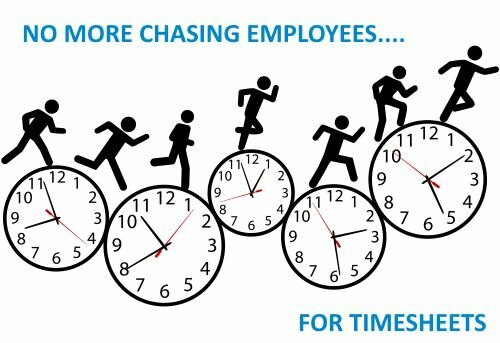 No More Chasing Employees for Timesheets