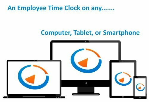 100% Web Based Employee Time Clock
